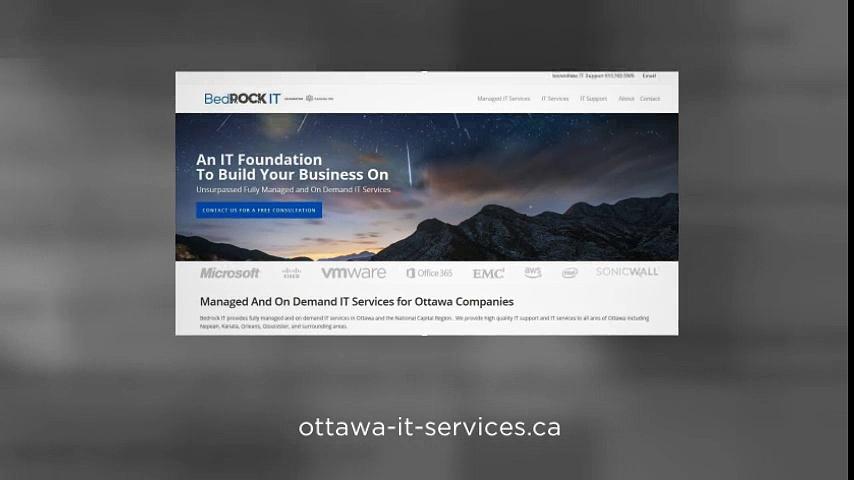 IT support Ottawa