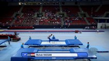 HASSAN Mohab (EGY) - 2017 Trampoline Worlds, Sofia (BUL) - Qualification Trampoline Routine 2-6vs