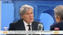 """Stéphane Le Foll se dit""""favorable"""" à un changement de nom du Parti socialiste"""