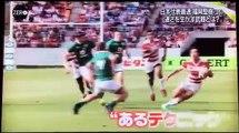ラグビー日本代表最速5�
