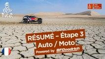 Résumé - Auto/Moto - Étape 3 (Pisco / San Juan de Marcona) - Dakar 2018
