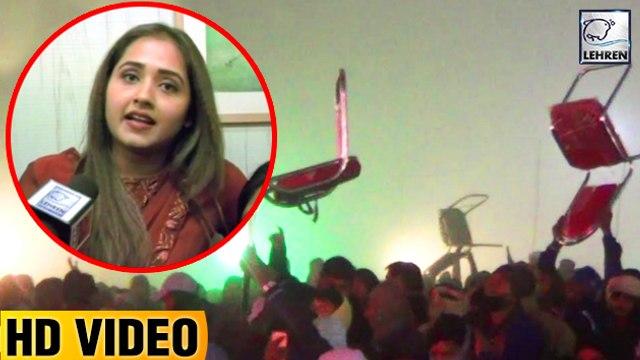 खेसारी और काजल की वजह से समस्तीपुर में लोगो ने जलाये पंडाल   Khesari Lal Yadav