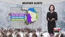 Heavy snow until Thursday with colder temps _ 010918
