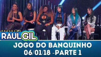 Jogo do Banquinho especial Mulheres do Funk - Parte 1 - Programa Raul Gil (06.01.18)
