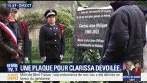 Une plaque commémorative en mémoire de Clarissa Jean-Philippe dévoilée à Malakoff