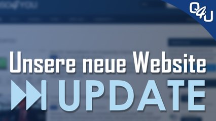 Unsere neue Website - QSO4YOU Update #3 | QSO4YOU Tech