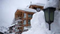 Avalanche Fears Trap 13,000 Tourists At Popular Swiss Ski Resort
