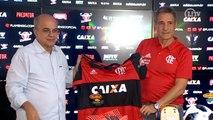 Apresentado no Flamengo, Carpegiani fala de planejamento para reforços