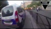 (Choc) En plein Paris, un jeune homme prend feu à cause d'une bavure policière