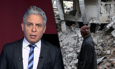 معتز مطر يعجزعن الكلام بعد مجزرة الغوطة و ادلب !!!