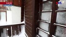 Alpler'de Yoğun Kar Yağışı Yüzünden Binlerce Turist Mahsur Kaldı