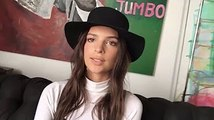 What has Emrat got under her bed - 2 minutes with Emily Ratajkowski - LOVE