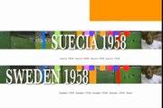 Copa Mundial de Fútbol de 1958 - Todos los goles