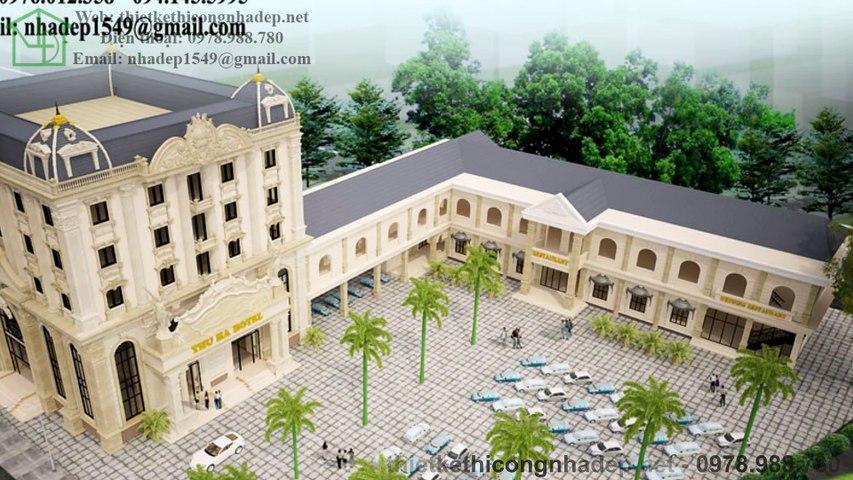 Thiết kế khách sạn hiện đại, thiết kế khách sạn tân cổ điển | Godialy.com