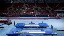 PIUNOV Oleg (AZE) - 2017 Trampoline Worlds, Sofia (BUL) - Qualification Trampoline Routine 2-eY701