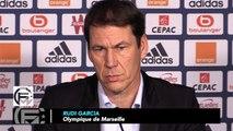 Garcia et le match face à Rennes