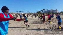 Football: mouscron en stage à Cadix - teambuilding décalé pour les Hurlus