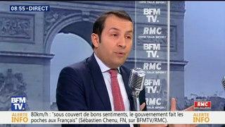 Le porte-parole du FN fait un étrange parallèle entre #BalanceTonPorc et le retour en France de femmes du djihad