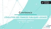 Rencontres Territoriales de Bretagne 2018 - Conférence générale sur l'évolution des finances publiques locales Y.Le Meur