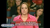 SHE DONT WANT HIS BABY! PARTY GIRL WANTS MONEY! JUDGE JOE BROWN JUDGE JUDY TYPE OF CASE