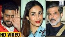 Farah Khan Birthday Bash | Anil Kapoor | Malaika Arora | Karan Johar