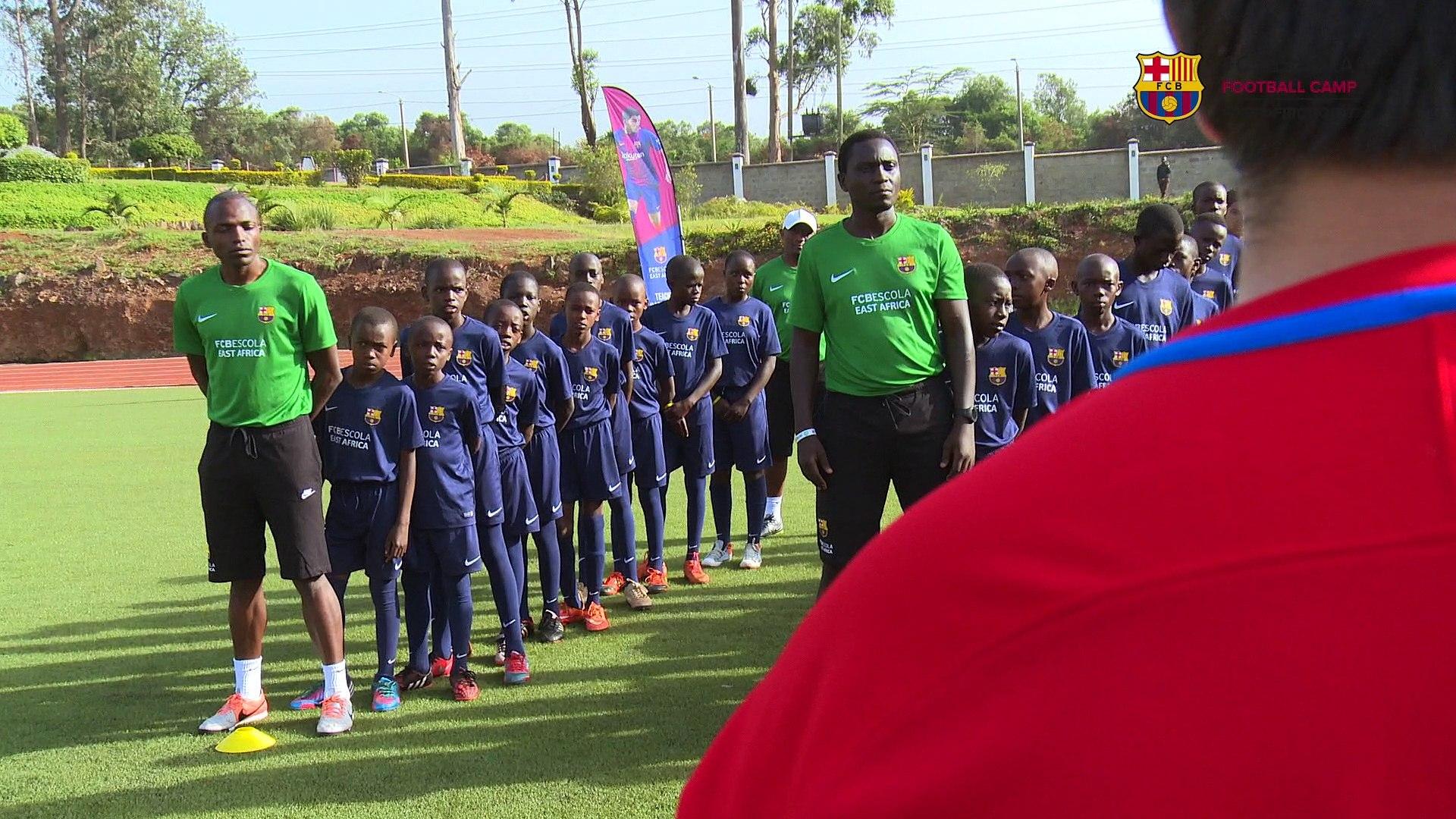 FCB Escola East Africa - Camp - December 11, 2017 to December 15, 2017