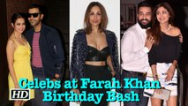B-Town PARTIES with Farah Khan on her Birthday