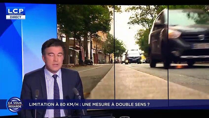 Jean-Luc Bennahmias à propos de la limitation à 80km/h sur les routes secondaires