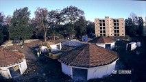 Timelapse sur la construction de l'éco-quartier La Verderie à Lons