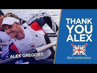 Cheers Alex! | GB Rowing's Gregory retires