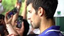 """Open d'Australie 2018 - Novak Djokovic : """"Je me remets dedans, je remets mon coude en état pour jouer des matches"""""""