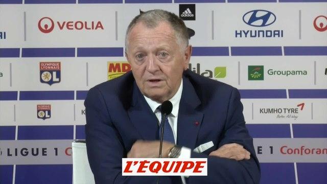 Foot - L1 - Lyon : Aulas «On n'est pas parti pour recruter»