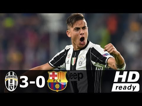 Juventus Vs Barcelona 3 0 All Goals Extended Highlights Video Dailymotion