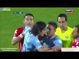 Edinson Cavani Red Card vs Chile 2015 - Chile vs Uruguay Copa America 2015 HD