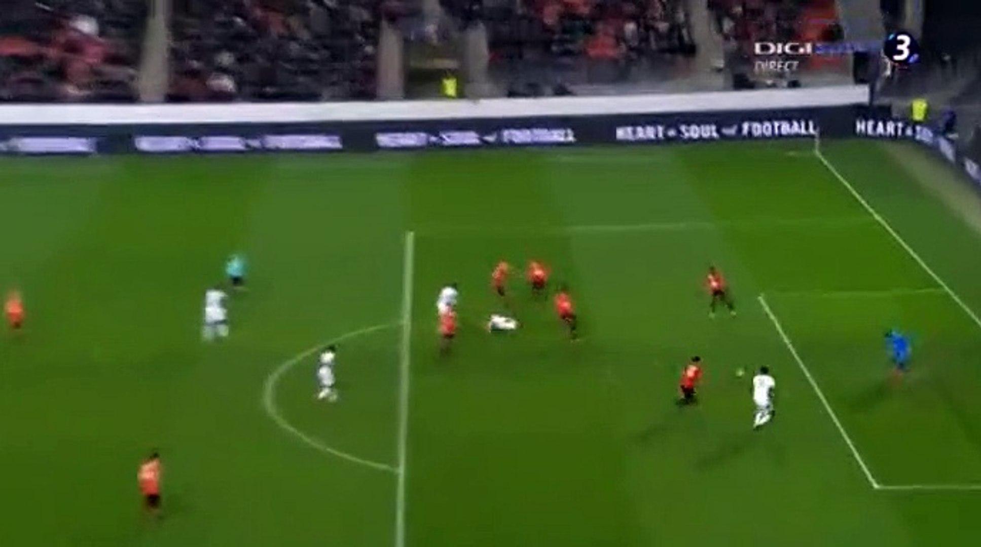 Yaya Sanogo Goal HD - Rennes 2-2 Toulouse 10.01.2018