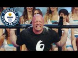 Most people squat lifted // Guinness World Records Italian Show (Ep 27)