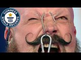 Extreme forehead and cheek weight lifting // Guinness World Records Italian Show (Ep 25)