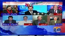 Aesay Hi Afsanay Sunatay Hain Logon Ko- Heated Debate B/W Hassan Nisar & Imtiaz Alam