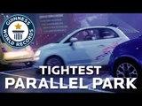 Tightest Parallel Park Record Broken - Guinness World Records