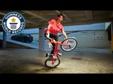 Most BMX time machines in one minute - Guinness World Records