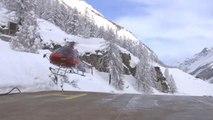 Fortes chutes de neige dans les Alpes