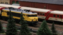 Modular Model Railroad Layout in HO scale made by Dutch Model Railroaders