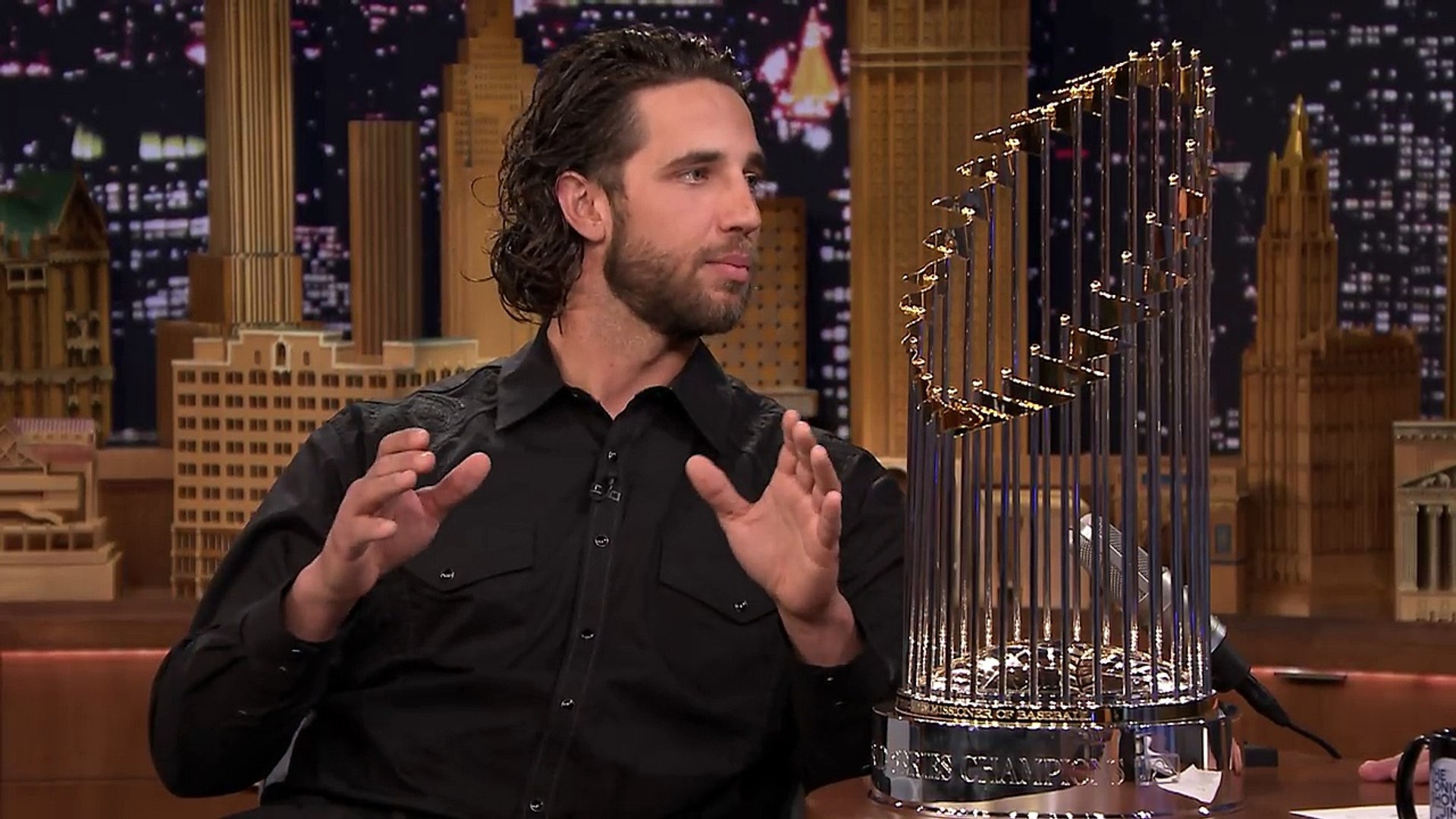 Madison Bumgarner Gives Jimmy a