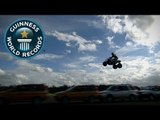 Longest Moving Quad Bike Jump - Video of the Week 29th August - Guinness World Records