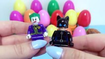 LEGO Surprise Eggs SUPER HEROES Spiderman Superman, Batman, Avengers and villains