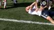 @TheBuzzer: Ribéry no pudo en el rondo