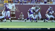 2014 - Minnesota Vikings quarterback Teddy Bridgewater ankle injury