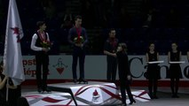 #CTNSC18 Victory Ceremonies: Junior Men, Novice Pair, Junior Pair