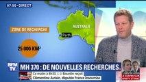 """Nouvelles recherches du MH370: """"Je ne vois aucune raison que cet avion soit là"""", dit Ghislain Wattrelos"""