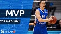 7DAYS EuroCup Top 16 Round 2 MVP: Kyle Kuric, Zenit St Petersburg